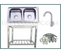 Bộ chậu rửa bát Hwata BD5-7341