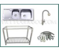 Bộ chậu rửa bát Hwata BDC1-12050