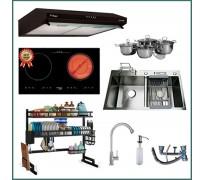 Combo thiết bị bếp Capri CRTN05 9 món