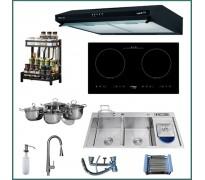 Combo thiết bị bếp Capri CRTN06 9 món