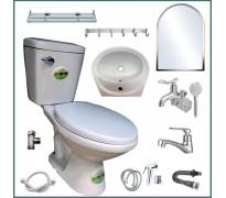 Combo thiết bị vệ sinh GRMT01 10 món