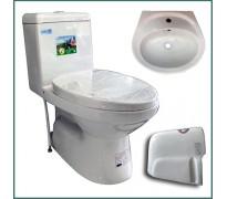 Combo thiết bị vệ sinh GRMT03 3 món