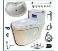 Combo thiết bị vệ sinh GRSY01 10 món