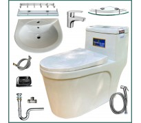Combo thiết bị vệ sinh GRZC01 10 món
