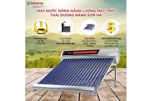 Bảng giá năng lượng mặt trời Sơn Hà chính hãng
