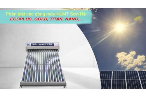 Phân biệt các dòng máy năng lượng mặt trời Sơn Hà
