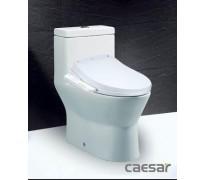 Bồn cầu 1 khối Caesar CD1374 nắp điện tử TAF400H