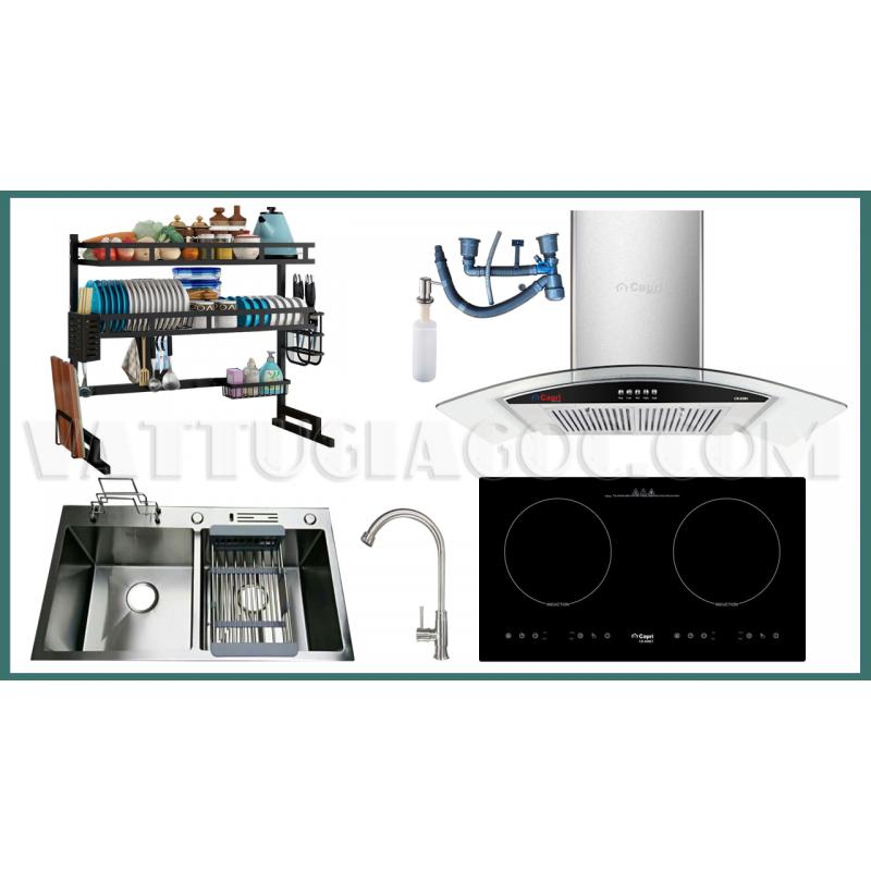 Combo thiết bị bếp Capri CRTN08 8 món