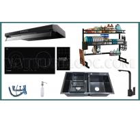 Combo thiết bị bếp Malloca MCTN01 8 món