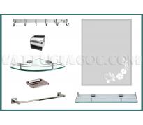 Bộ phụ kiện phòng tắm PKZC01 7 món