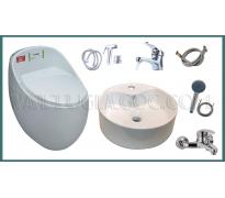Combo thiết bị vệ sinh GRGM07 5 món