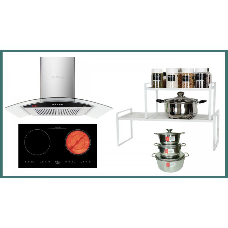 Combo thiết bị bếp Capri CRTN04 3 món