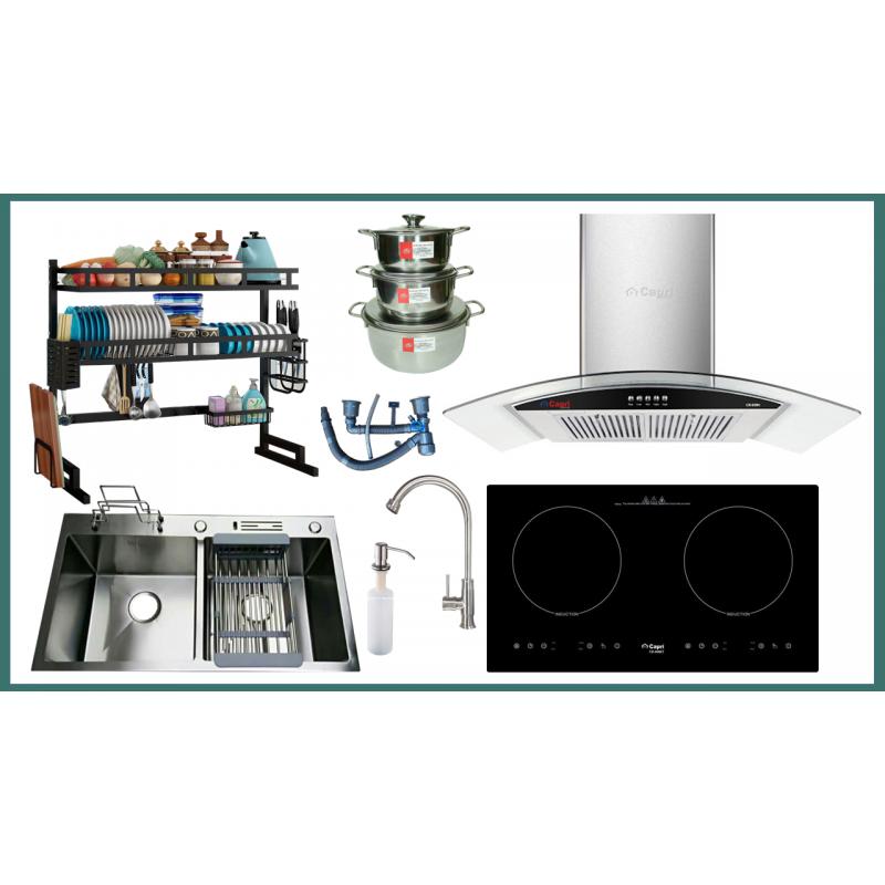 Combo thiết bị bếp Capri CRTN08 9 món