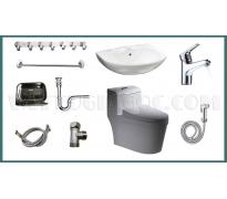 Combo thiết bị vệ sinh GRSY01 9 món