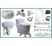 Combo thiết bị vệ sinh GRZC01 15 món
