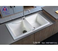 Chậu rửa bát Việt Mỹ S2N-09 đá nhân tạo