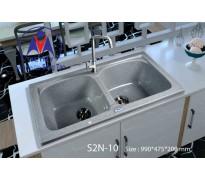 Chậu rửa bát Việt Mỹ S2N-10 đá nhân tạo