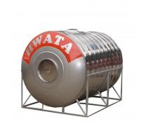 Bồn inox Hwata 3000L ngang SUS304