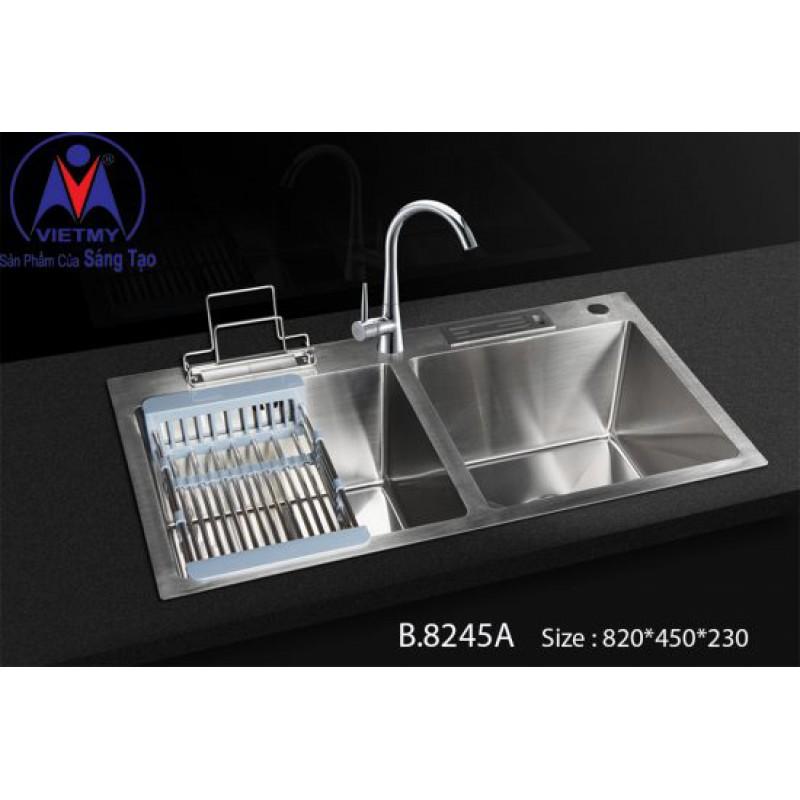Chậu rửa bát Việt Mỹ B.8245A inox sus304