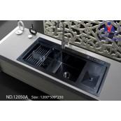 Chậu rửa bát Việt Mỹ ND.12050A inox phủ nano
