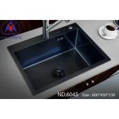 Chậu rửa bát Việt Mỹ ND.6045 inox phủ nano