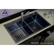 Chậu rửa bát Việt Mỹ ND.8350 inox phủ nano
