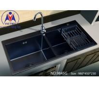 Chậu rửa bát Việt Mỹ ND.9845G inox phủ nano