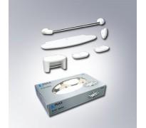 Bộ phụ kiện nhà tắm 6 món Inax H-AC480V6 bằng sứ