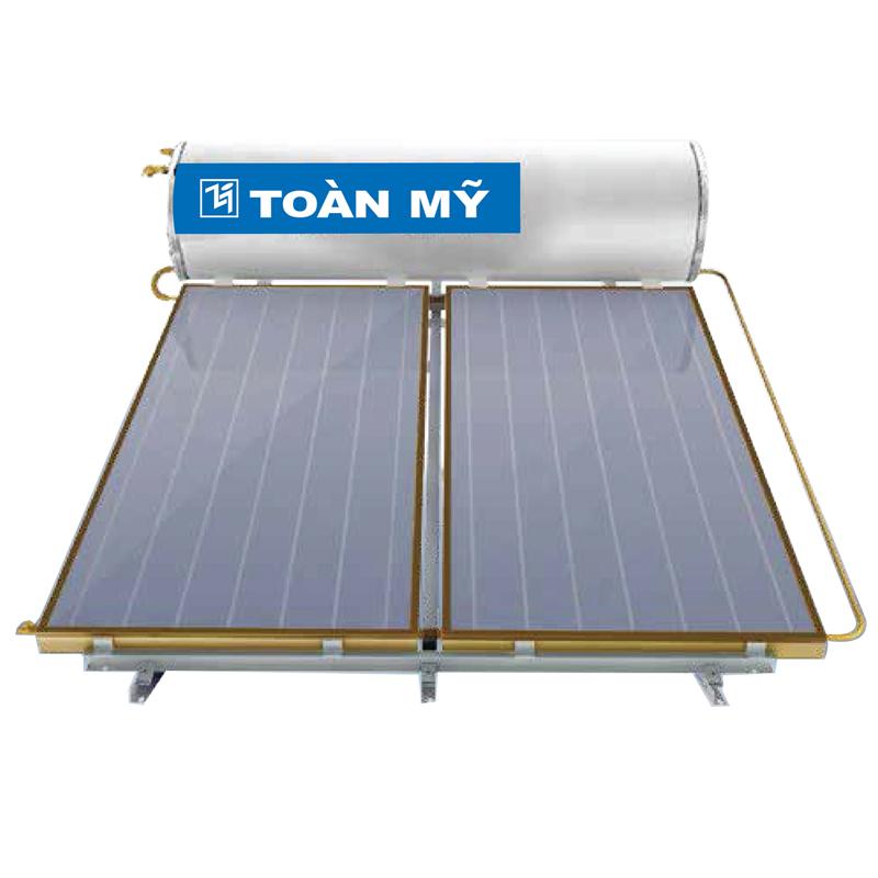 Máy năng lượng mặt trời Toàn Mỹ 300L Tấm phẳng Flat Gold