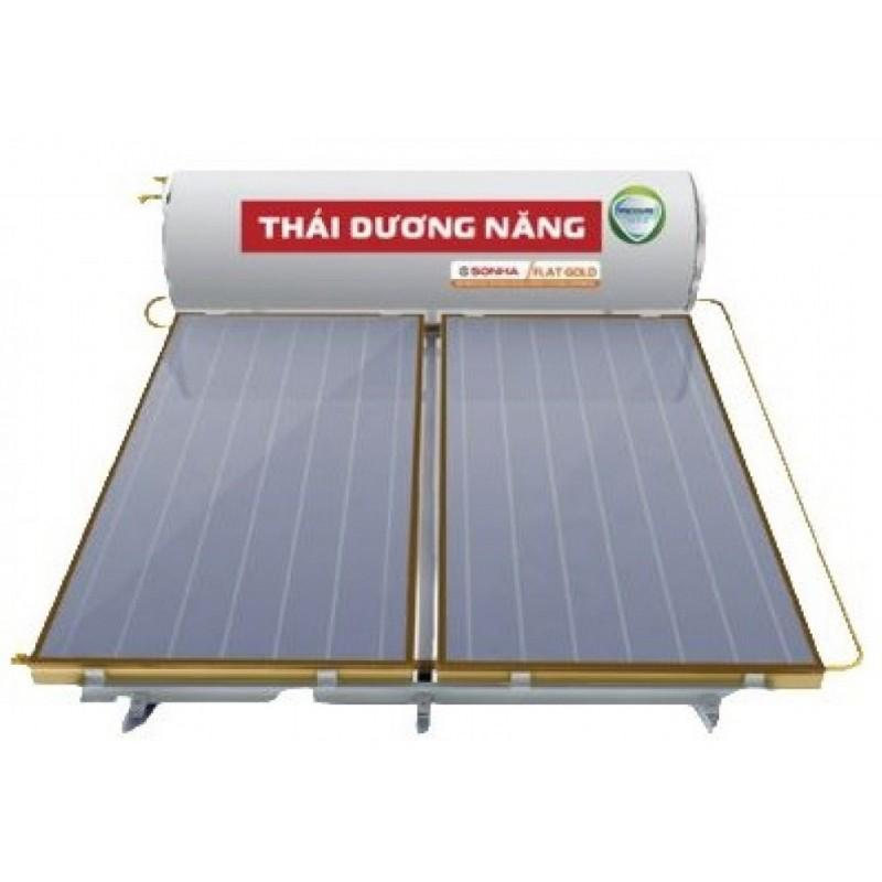Máy năng lượng mặt trời dạng tấm Sơn Hà 300L