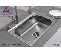 Chậu rửa bát Việt Mỹ H.5040 inox