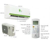 Máy Lạnh Electrolux 1 HP ESV09CRK-A2
