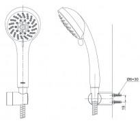 Vòi rửa bát nóng lạnh Luxta L3219S sus304